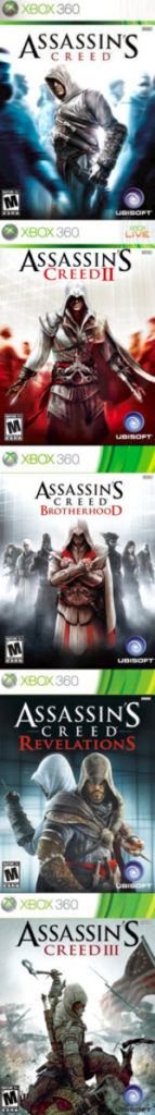 Assassin's Creed Covers