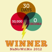 National Novel Writing Month 2012 Winner